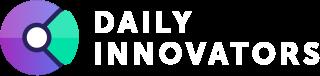 Logo der Dailyinnovators in weiß klein