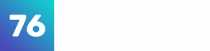 Weißes Logo der Digital Agentur 76Stunden
